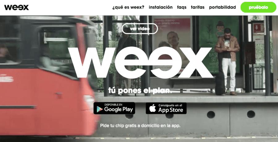 ofertas weex