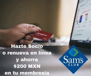 ¡Sam´s Club te espera!