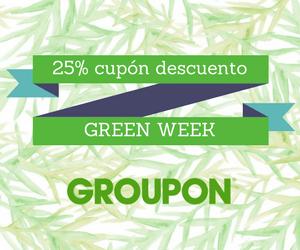 Disfruten de Groupon Green Week..