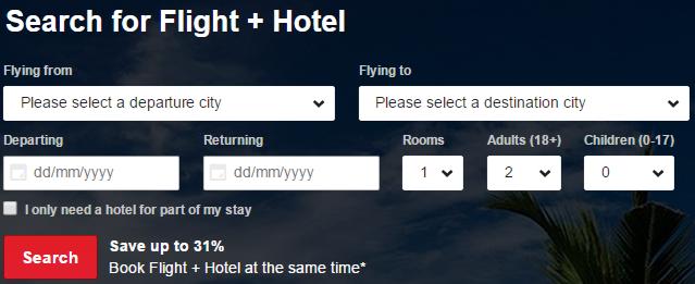 Flight & Hotel deals at AirAsiaGo