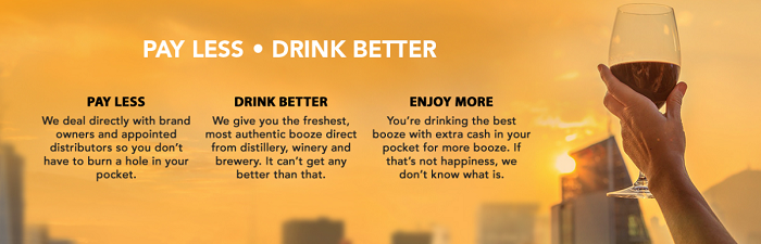 Drink better with Boozeat
