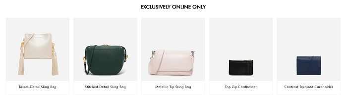 Find online-only accessories