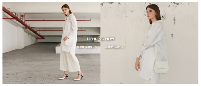 Trending pieces at Charles & Keith