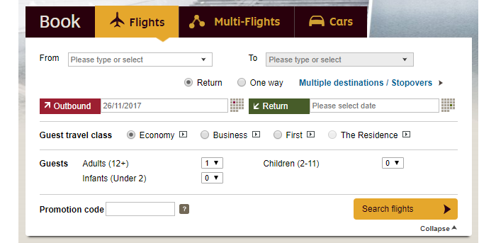 Look for fantastic fares with Etihad