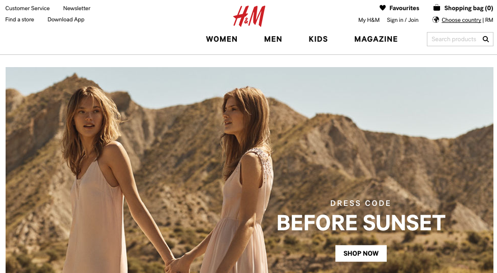 H&M coupons at Picodi