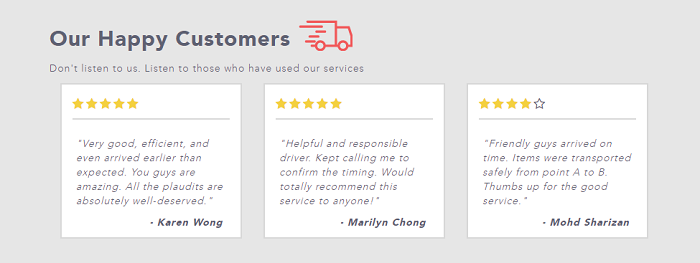 Read the customers' reviews