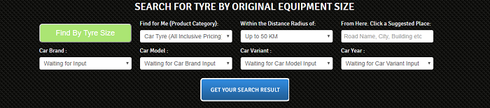 Search for car parts with Mytayar