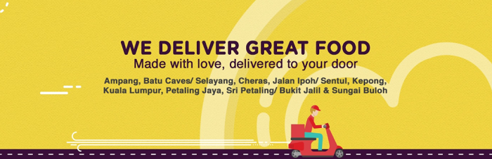 Pappa Delivery's brought to your home