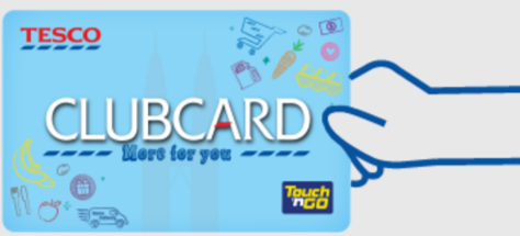 Tesco clubcard promotion