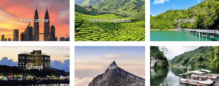 Top Adventoro's destinations