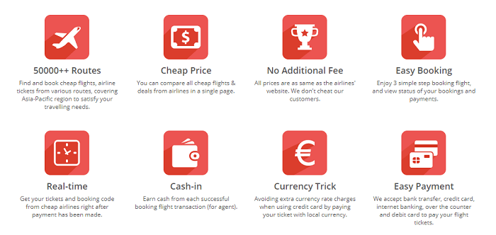 Features available on Airpaz