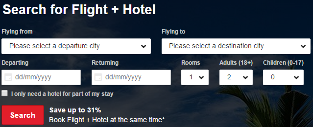 Flight & Hotel deals at AirAsiaGo