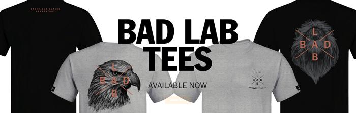 New T-shirts at BadLabCo