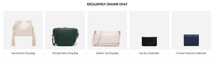 Find online-only accessories