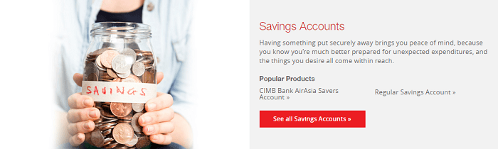 Find your new savings account