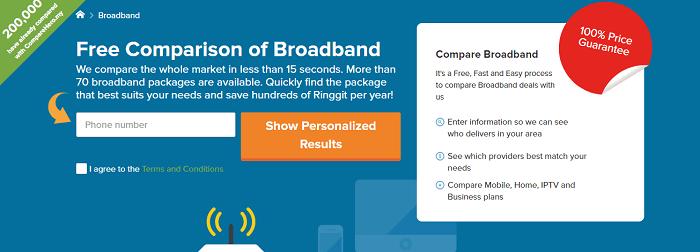 Broadband at CompareHero