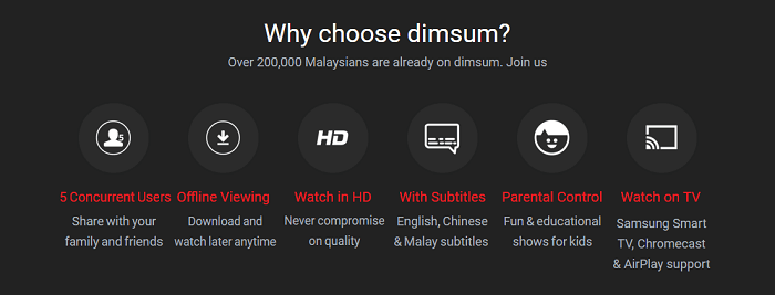 Why choose Dimsum?