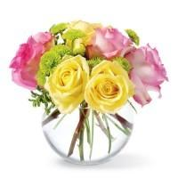Assorted Roses in a Vase (FlowerAdvisor)