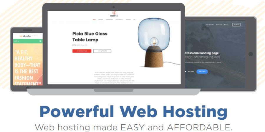 Visit HostGator's website