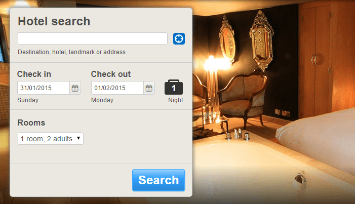 Search for hotel deals and vouchers at Hotels.com