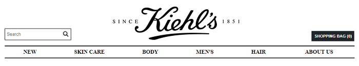 Shop at Kiehl's online store