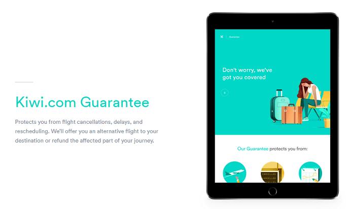 Kiwi.com guarantee