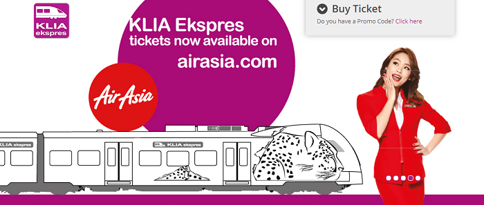 Save with Airasia and Klia Express