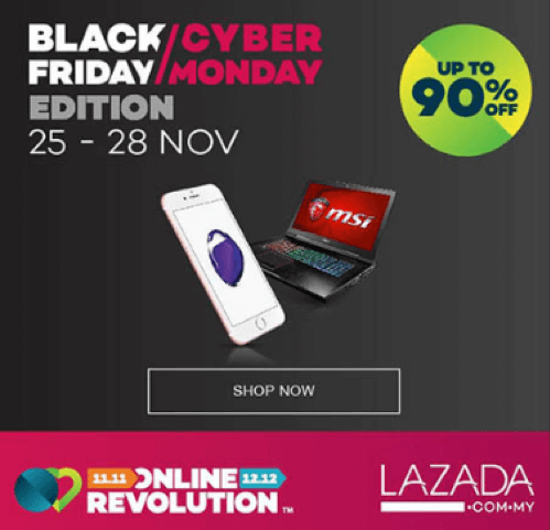 Lazada Black Friday deals