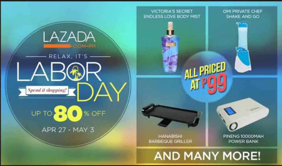 Lazada seasonal promotions