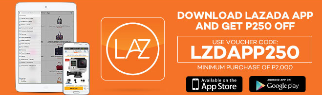Lazada mobile app discount