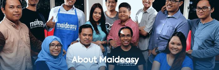 Explore Maideasy's website
