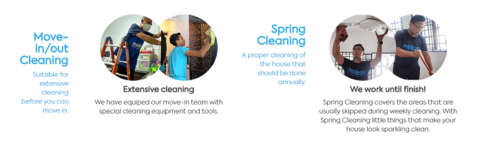 Other types of cleaning