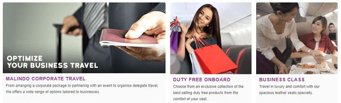 Business travel with Malindo Air
