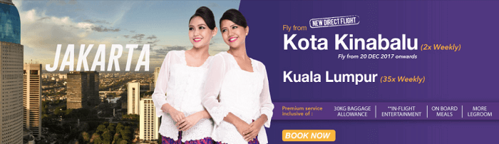 Fly to Jakarta for less with Malindo Air