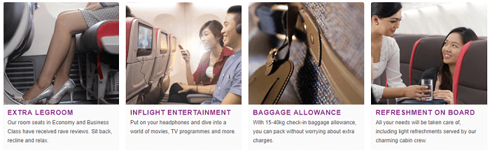 Services available at Malindo Air
