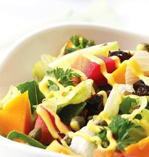 Delicious salad offer at Makandeal