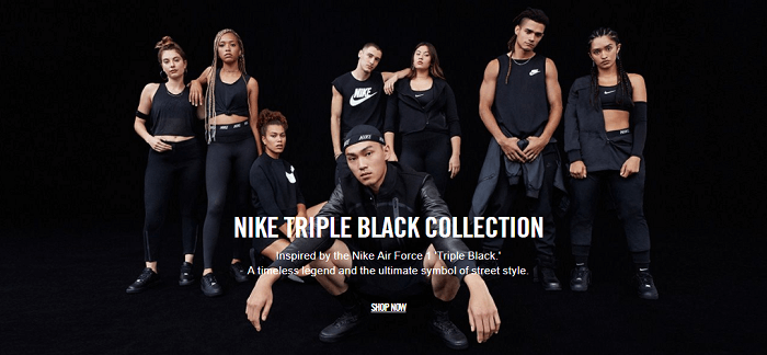 The new Black collection