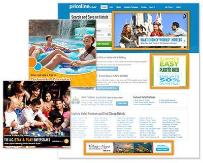 Priceline homepage offer