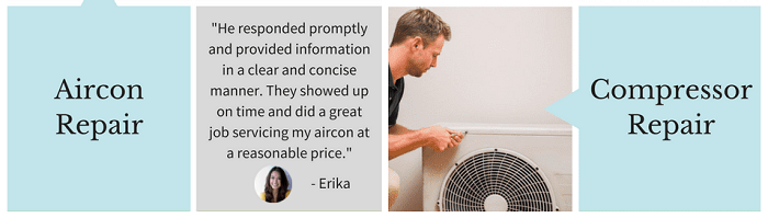 Repair work provided by Express Aircon Service
