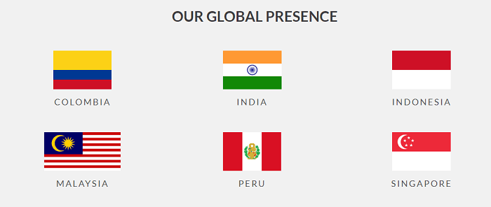 Global presence of Red Bus