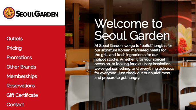 Seoul Garden coupons at Picodi