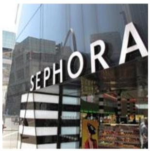 Sephora retail store in Malaysia