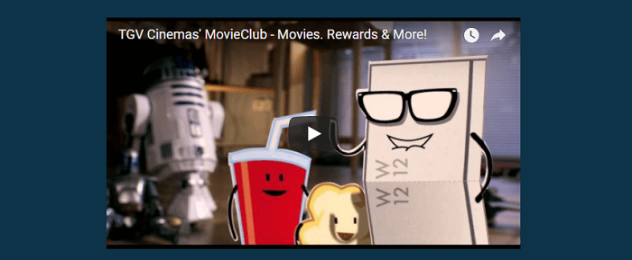 Become a member at the Movie Club
