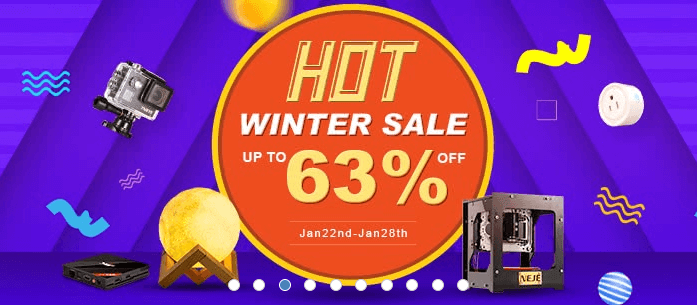 Winter sale for you