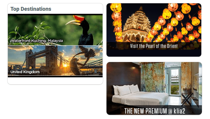 Top features at Tune Hotels
