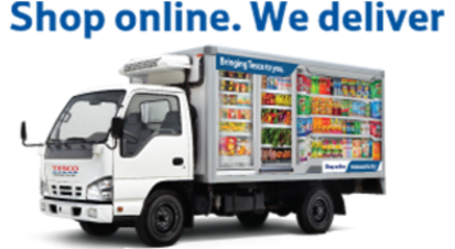Tesco deliveries in Malaysia