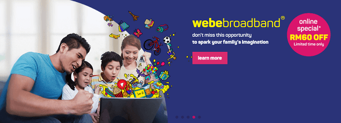Choose Webe broadband