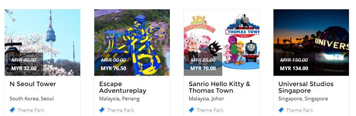 Fantastic theme parks