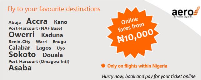 Flyaero top destination deals
