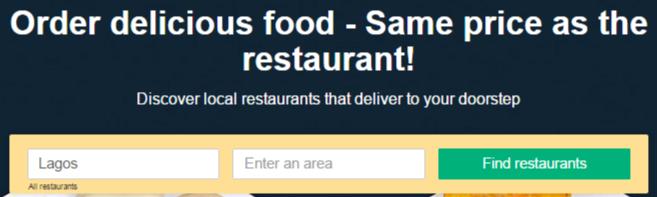 Ordering at Hellofood